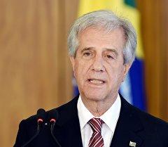 Уругвайдын президенти Табаре Васкес. Архив
