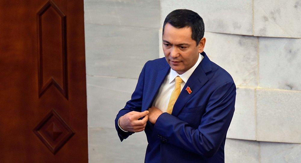 Экс-кандидат в президенты Омурбек Бабанов. Архивное фото