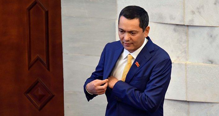 Депутат 6-го созыва ЖК Омурбек Бабанов