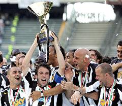 Юбилей футбольного клуба Ювентус из Турина
