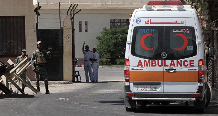 Машина скорой помощи в Египте. Архивное фото