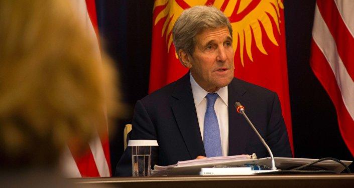 Керри сообщил, что США и 65 стран объединились в коалицию, чтобы уничтожить угрозу в виде терроризма.