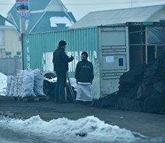 Пункт продажи гуля в Бишкеке. Архивное фото