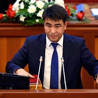 КСДП фракциясынын депутаты Жанар Акаевдин архивдик сүрөт