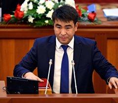 КСДП партиясынын депутаты Жанар Акаевдин архивдик сүрөтү
