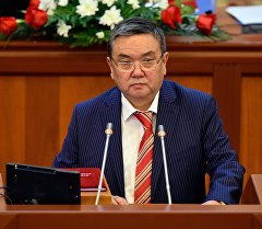 Депутат ЖК Алмазбек Акматов. Архивное фото
