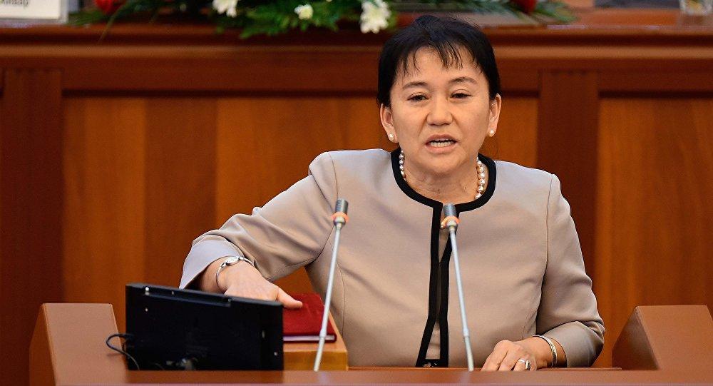 КСДП фракциясынын депутаты Айнуру Алтыбаева