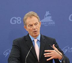 Улуу Британиянын мурдагы премьер-министри Тони Блэр. Архив