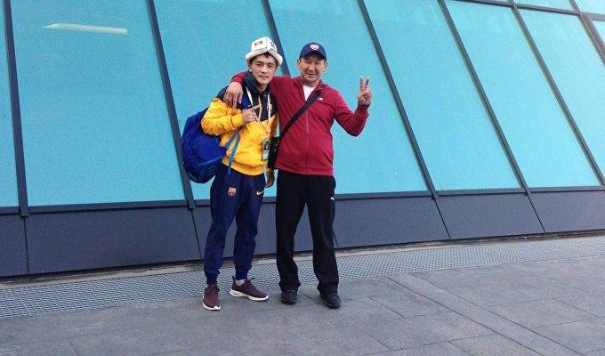 Касымбеков боролся за медали в весовой категории до 54 килограммов в разделе лоу-кик.