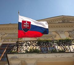 Словакиянын желеги. Архив