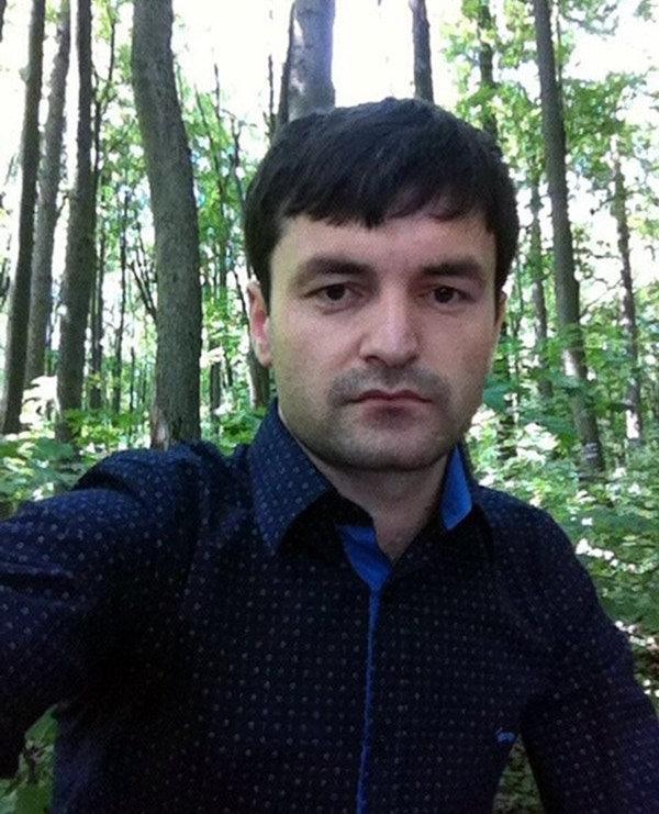 Таксист из Таджикистана Забехулло Шафеъзода в Москве.