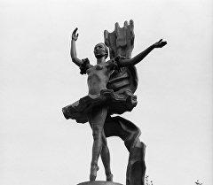 СССРдин Эл артисти Бүбүсара Бейшеналиеванын айкели. Архив