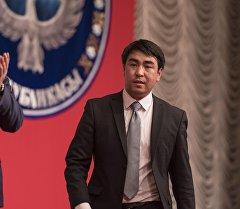 Архивное фото депутата Жогорку Кенеша от фракции СДПК Жанара Акаева