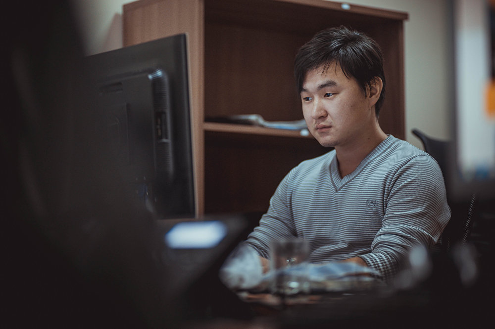 Журналист МИА Sputnik Кыргызстан Азамат Аралбаев