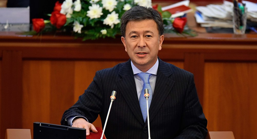 Аскарбек Шадиев стал первым вице-премьер-министром КР