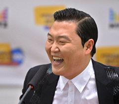Южнокорейский певец и автор песен PSY (настоящее имя Пак Чэ Сан). Архивное фото