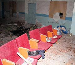 Жалал-Абад облусунун Ала-Бука районундагы кинотеатрдын имараты