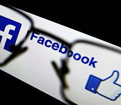 Фейсбук социалдык тармагынын логотиби. Архивдик сүрөт