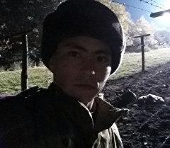 Актер Анвар Осмоналиев. Архив