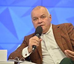 Россия сегодня Эл аралык агенттигинин башкы директору Дмитрий Киселев