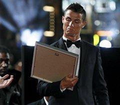 Реал Мадрид командасынын чабуулчусу жана Португалия курама командасынын капитаны Криштиану Роналдунун архивдик сүрөтү