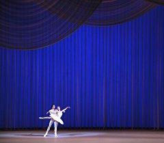 Артисты балета выступают на концерте. Архивное фото