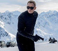 Кадр из фильма 007: Спектр.