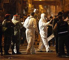Последствия взрыва в столице Ливана.