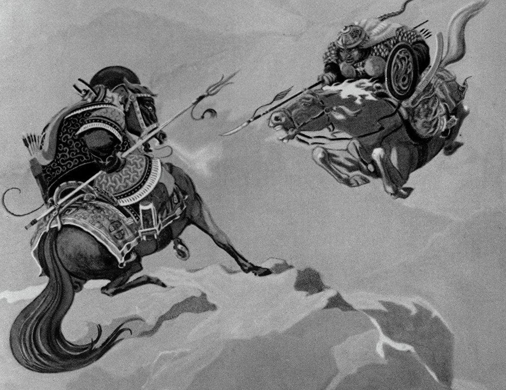 Манас эпосу жонундо эссе 9083