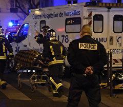 Париждеги болгон теракт жайындагы полиция кызматкери. Архив