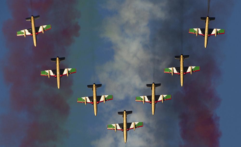 Международная авиационно-космическая выставка Dubai Airshow-2015. День третий