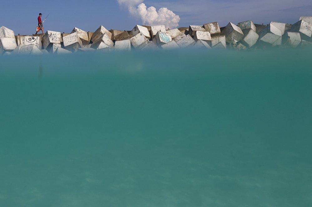 Пляжный сезон в Мексике