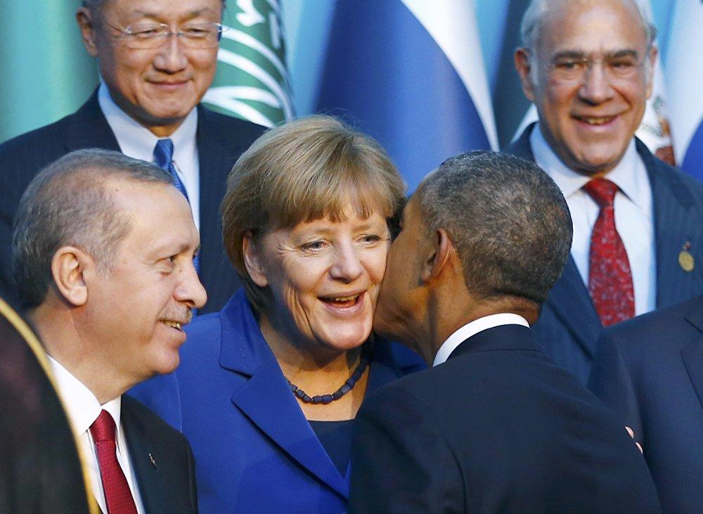 Саммит G20 в Анталье (Турция)