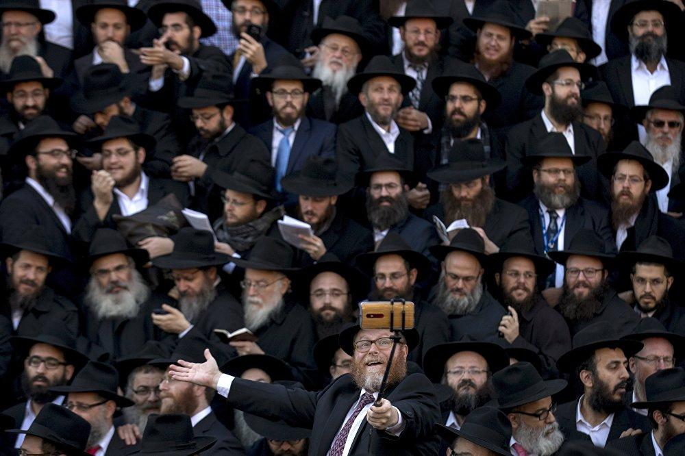 Ежегодная международная конференция представителей религиозного движения Хабад-Любавич в Нью-Йорке