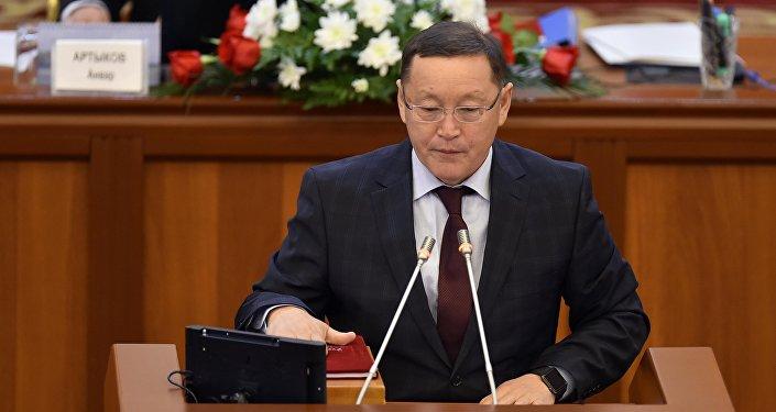 Депутат Осмонбек Артыкбаевдин архивдик сүрөтү