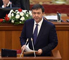 Архивное фото депутата ЖК 6 созыва Азамата Арапбаева от фракции СДПК