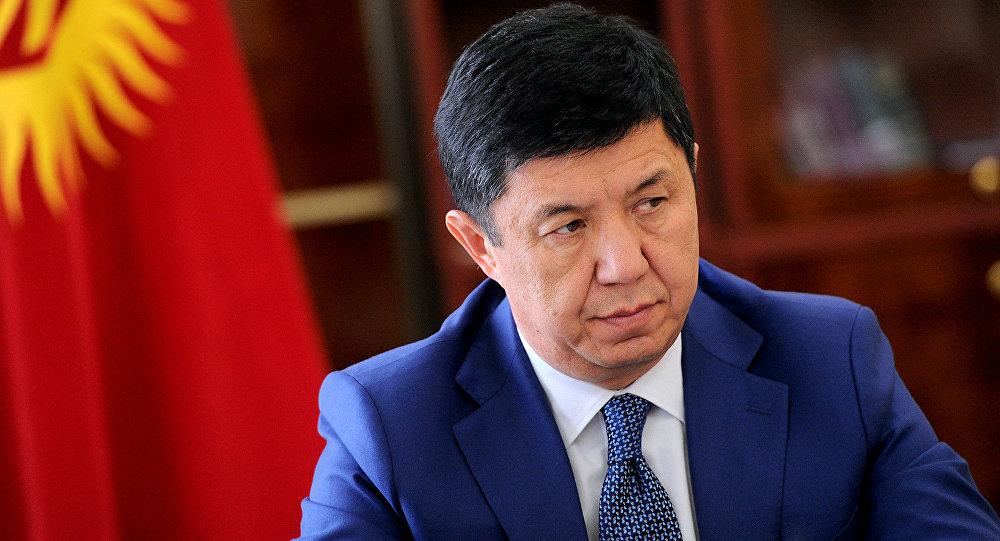 Экс-премьер-министр Темир Сариев. Архивное фото