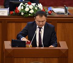 Депутат Данияр Аттокуров. Архив