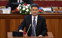 Депутат Алмазбек Баатырбеков
