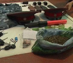 Силовики обнаружили у 19-летнего кызыл-кийца гранаты, патроны и наркот