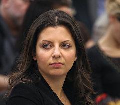 Главный редактор телеканала Russia Today Маргарита Симоньян. Архивное фото