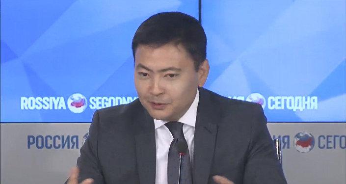 Министр ЕЭК Данил Ибраев. Архивное фото