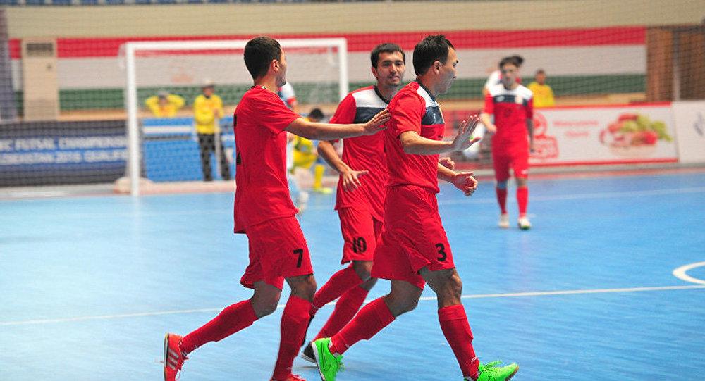Игроки сборной Кыргызстана по по футзалу. Архивное фото