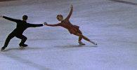 Золото Людмилы Белоусовой на Олимпиаде в Гренобле. Съемки 1968 года