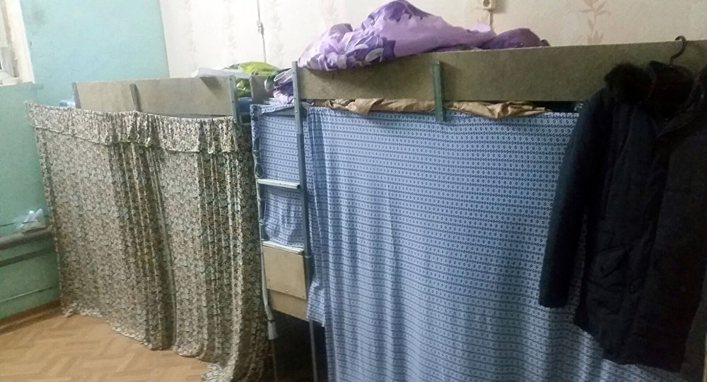 Обнаруженный швейный цех, где эксплуатировали граждан Кыргызстана.