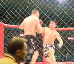 Как кыргызстанец нокаутировал чемпиона мира по ММА — кадры с Молдовы