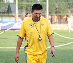 Кыргызстанский специалист по футболу Анарбек Ормомбеков. Архивное фото