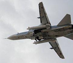 Россиянын Су-24 учагы. Архив