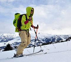 Лыжачан турист. Архив