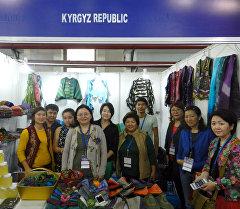 Кыргызская делегация в г. Нью-Дели, где проходит 35-я международная торговая выставка India International Trade Fair-2015